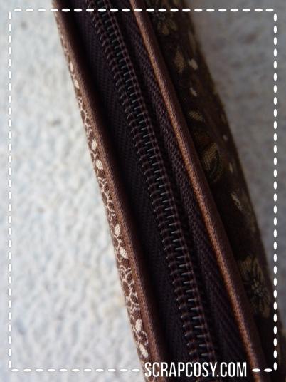 20150807 - NYC trip pencil case - 2 - zipper closed