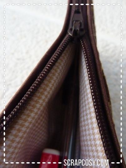 20150807 - NYC trip pencil case - 2 - zipper opening