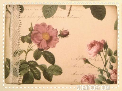 simple postcards lace