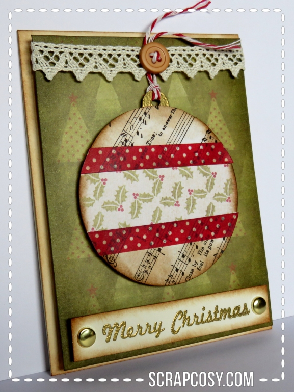 20150908 - Christmas cards 2015 collection paper - ball 1 - side - scrapcosy