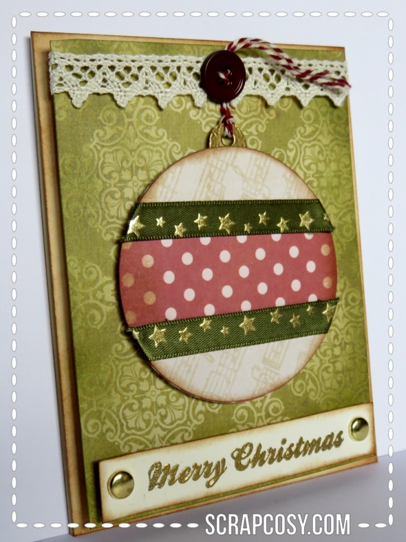 20150908 - Christmas cards 2015 collection paper - ball 2 - side - scrapcosy