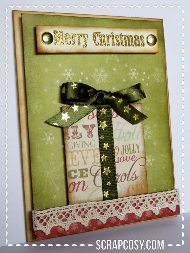 20150908 - Christmas cards 2015 collection paper -present - side - scrapcosy