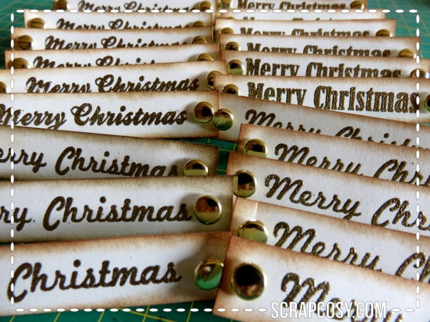 20150908 - Christmas cards 2015 collection paper - sentiments