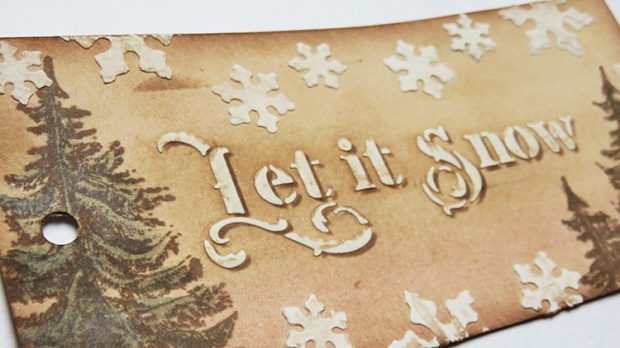 1 - let it snow scrapcosy