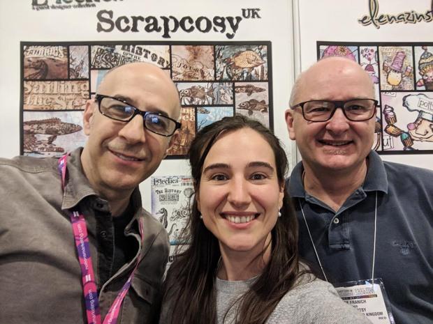 12 Seth Apter, Mark Franich and scrapcosy